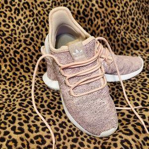 Adidas tubular shadow dust black white